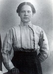 Photo shows Ulriikka Strengel, the great grandmother of the Arctica Estates CEO.