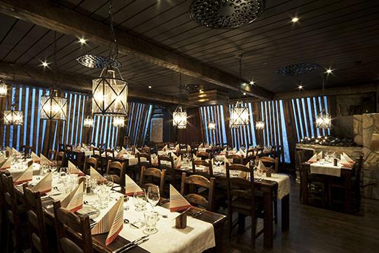 Photo shows restaurant Kippo in Vuokatti, Sotkamo.